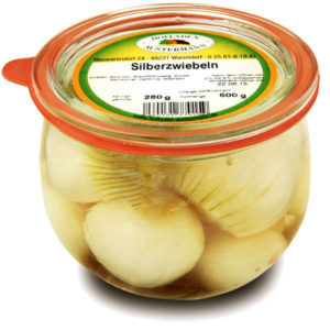 Silberzwiebeln 0,5l