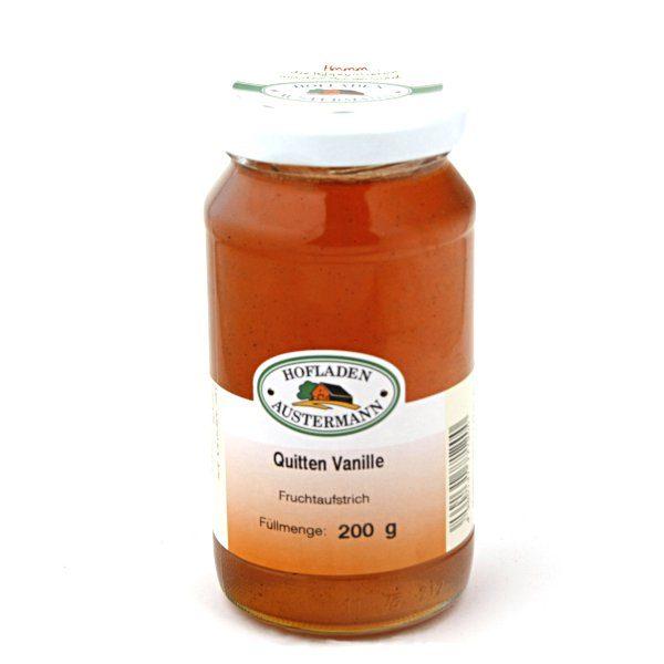 Quitten-Vanille Fruchtaufstrich 200ml,