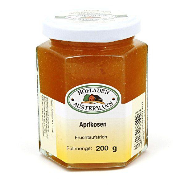 Aprikosen Fruchtaufstrich 200g, Hofladen Austermann