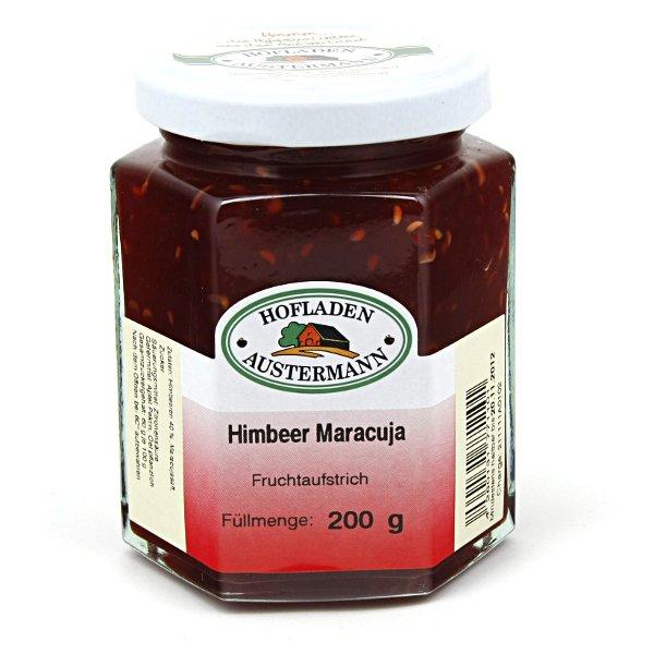 Himbeer-Maracuja Fruchtaufstrich 200g, Hofladen Austermann