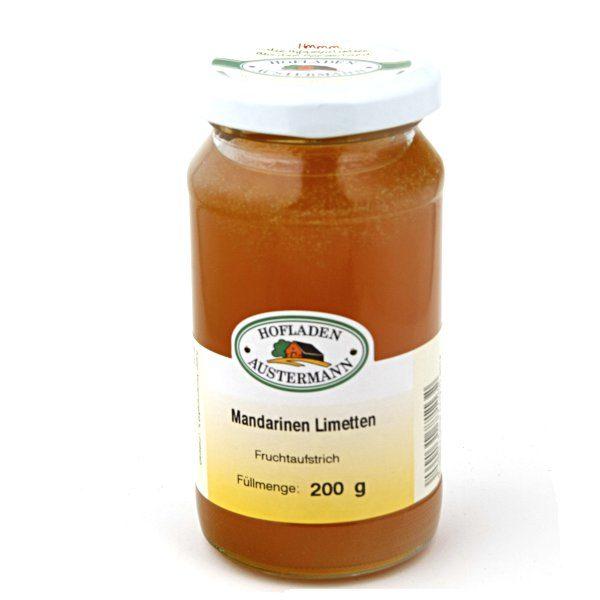 Mandarinen-Limetten Fruchtaufstrich 200g