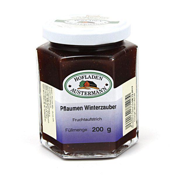 Pflaume-Winterzauber Fruchtaufstrich 200g, Hofladen Austermann