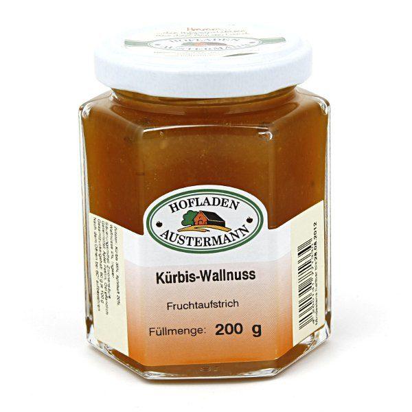 Kürbis-Walnuss Fruchtaufstrich 200g, Hofladen Austermann