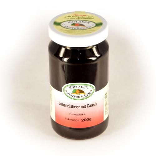 schwarzer Johannisbeer mit Cassis Fruchtaufstrich-0
