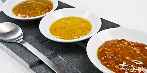 Saucen, Dips und Senf